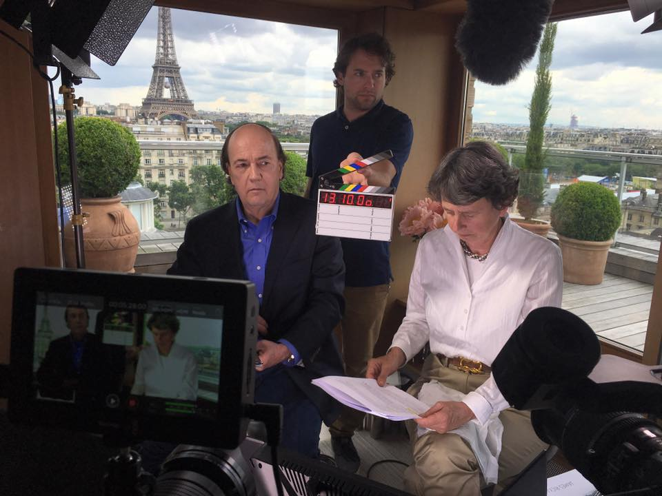 Bonnemaison Inc filming in Paris in the 15th arr