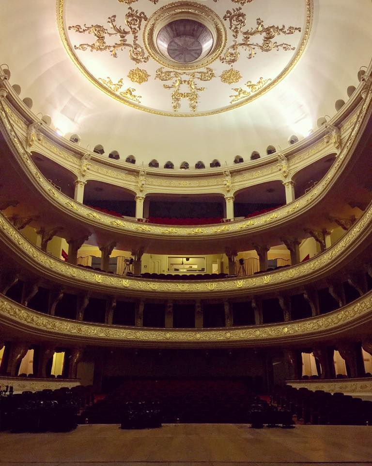 Stage of the Teatro Municipal De Lima