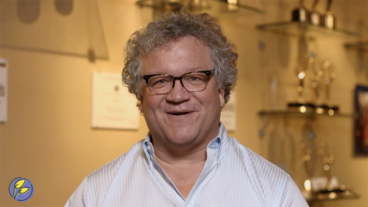 Screen grab of Brooks Moore in a Techniche video